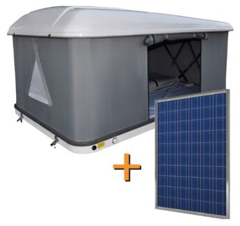 Hard Roof Top Tent + 120W solar panel ******8111 Newcastle 2300 Newcastle Area Preview