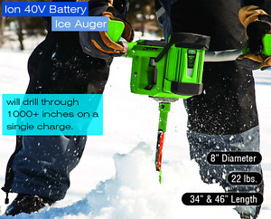 ION Electric ice auger