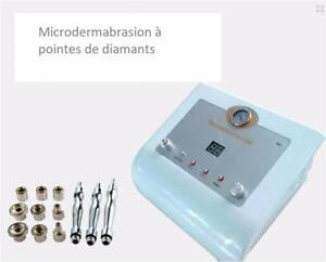 Appareil Microdermabrasion aux diamants et Peeling acide glycolique  Formation Incluse