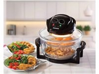 Daewoo Halogen Air Fryer Low Fat Fast Cook Healthy Oven 12L + 5L Capacity Brand new in sealed box