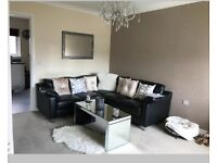 Black corner sofa for sale only £50!