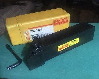 Sandvik Rs151.22-20-40 Carbide Insert Grooving Cut Off Parting Tool Holder Q Cut