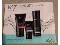 No. 7 Complete Shave for men