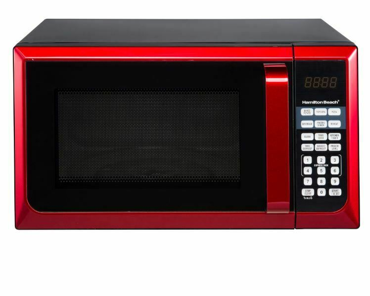 Microwave Oven Countertop Stainless Steel New Small 0.9 cu.f
