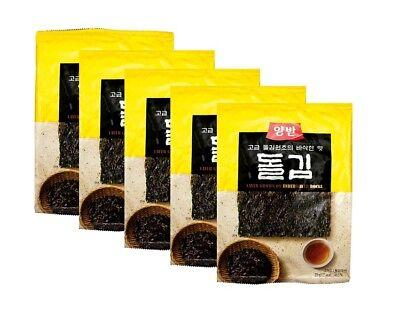 Nuevo : 5 X 20G Dongwon Nori Alga Marina Asada y Especiado...