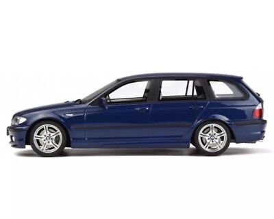 (New 1/18 Otto 2005 BMW E46 330i M Sport Wagon Blue Touring 2,000pcs M3 911)