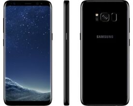 SAMSUNG S8 PLUS 64GB, BRAND NEW 2 YEAR SAMSUNG WARRANTY, DUAS (USE 2 SIM CARDS)