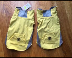 Brand new small dog Rain coats. (Each for $25)
