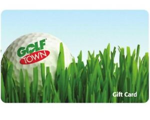 Golf Town gift card $228.00 plus coupon.