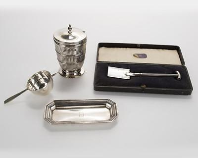 Four Tiffany & Co. sterling silver objects Lot 2206