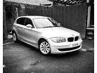 BMW 1 SERIES 116i ES 57 plate silver 77,500 miles