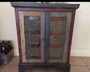 Wanted rustic cabinet Indian or Indonesian Style max 800 wide Busselton Busselton Area Preview