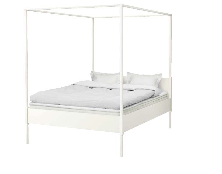 Ikea edland four poster king size bed in hove east - Ikea letto a baldacchino ...