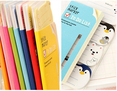 To Do List Sticker Paste Bookmark Marker Memo Flags Index Tab Sticky Notes