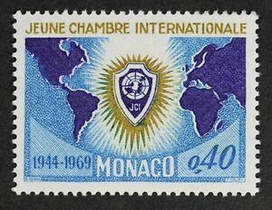 E681-MONACO-1969-749-Junior-Chamber-of-Commerce-Mint-NH