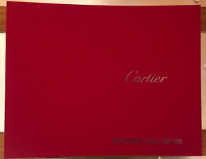 CARTIER SEALED  CATOLOG BOOK