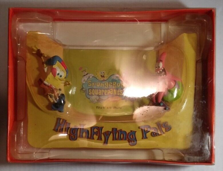 Spongebob Squarepants & Patrick HighFlying Pals Picture Photo Frame New in Box