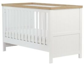 Mothercare Lulworth Cot bed & Mattress