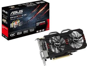 (New) Asus R7 260x video card