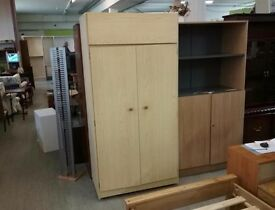 20% OFF ALL ITEMS SALE - Wardrobe / Cupboard With Shelves - Can Deliver For £19