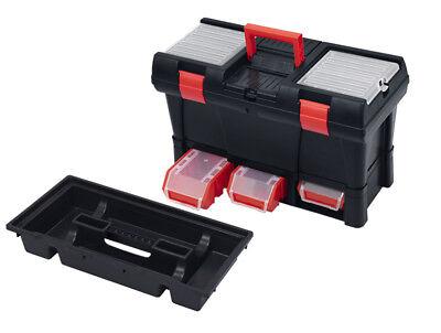 Profi Werkzeugkoffer Werkzeugkasten Werkzeugkiste Transportbox Kleinteilemagazin