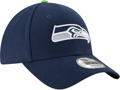 Seattle Seahawks Hat Adjustable OSFA The League 9Forty Navy New Era NFL