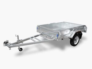 6x4 Hot Dipped Galvanised Heavy duty box trailer - opening sale Harristown Toowoomba City Preview