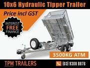 10x6 3.5T HYDRAULIC TIPPER TRAILER HEAVY DUTY Campbellfield Hume Area Preview