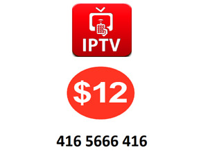 Free IPTV box + $12 MONTHLY_no tax_no extra fees_IPL_WORLDCUP