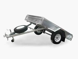 BRAND NEW 8 x 5 BOX TRAILER - TILTING - GALVANISED - GOLD COAST Helensvale Gold Coast North Preview