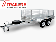 8×5 TANDEM BOX TRAILER GALVANISED, ATM 1990KG, 300MM SIDE Currumbin Waters Gold Coast South Preview