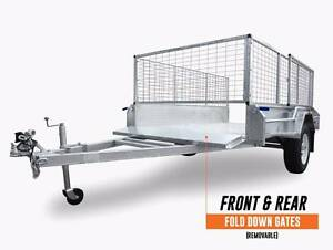 HotDippedGal 7x4 CageTrailer include Spare wheel Coopers Plains Brisbane South West Preview