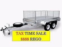 10×5 Tandem Box Trailer Gal REDUCE TO CLEAR END OF YEAR TAX SALE Coopers Plains Brisbane South West Preview