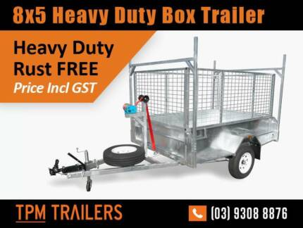8ft X 5ft TILTING 1.5 tonne Trailer Extra long Drawbar  2399 Campbellfield Hume Area Preview
