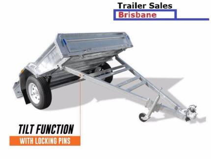 Brand New Trailer 8 x 5 BOX FULLY WELDED, Hot dip Galvanized Cleveland Redland Area Preview