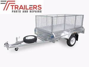 7 x 4 Fully Welded Box Trailer with 1500mm long drawbar Currumbin Waters Gold Coast South Preview