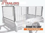 Fully Welded 6 x 4 Galvanised Box Tipping Trailer with 600mm Cage Currumbin Waters Gold Coast South Preview