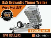 only$132 P/W 3.5T HYDRAULIC TIPPER GALVANISED TRAILER Melbourne CBD Melbourne City Preview
