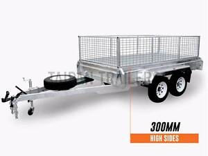 ElectricBrake FullyWelded 1900mm Drawbar TDM 10x6 Cage Trailer Coopers Plains Brisbane South West Preview