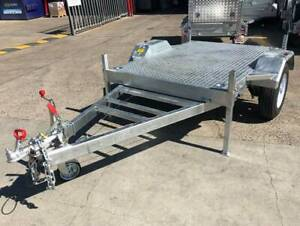 New 7x5 Flat Top Flat Deck Fire Water IBC Trailer Tank Coopers Plains Brisbane South West Preview