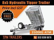 8x5 HYDRAULIC TIPPER TRAILER | 3.5 TON ATM Campbellfield Hume Area Preview
