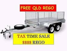 10×6 Tandem Box Trailer Galvanized  FREE QLD REGO TAX SALE Coopers Plains Brisbane South West Preview
