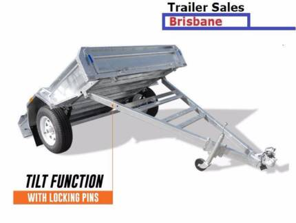 Brand New trailer 6x4 Fully Welded and Hot Dip Galvanized