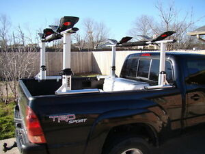 Thule 422xt xsporter truck rack includes rail mount system