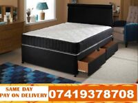 **BRAND NEW SINGLE SMALL DOUBLE AND DEVAN BED**