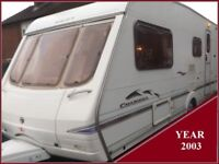 Swift Charisma 4 Berth Luxury Touring Caravan Ace Abbey Sterling Group.