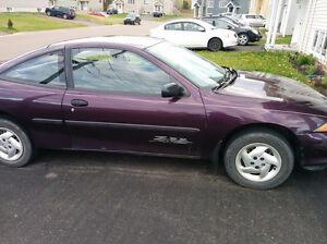 1997 Chevrolet Cavalier Coupe (2 door)(SOLD - PENDING PAYMENT)