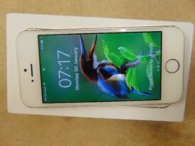 Iphone 5s 16GB gold locked to O2/giffgaff