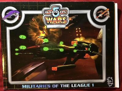 Babylon 5 Wars: Militaries of the League 1 - Agents of Gaming