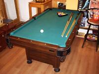 Family Pool Table- Needs New Home